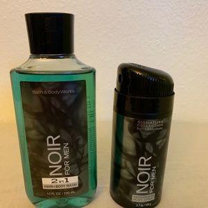 Men's bath and bodyworks shower gel/body spray